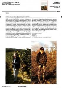 Terre de Vins Article Herre Nov-Dec 2014