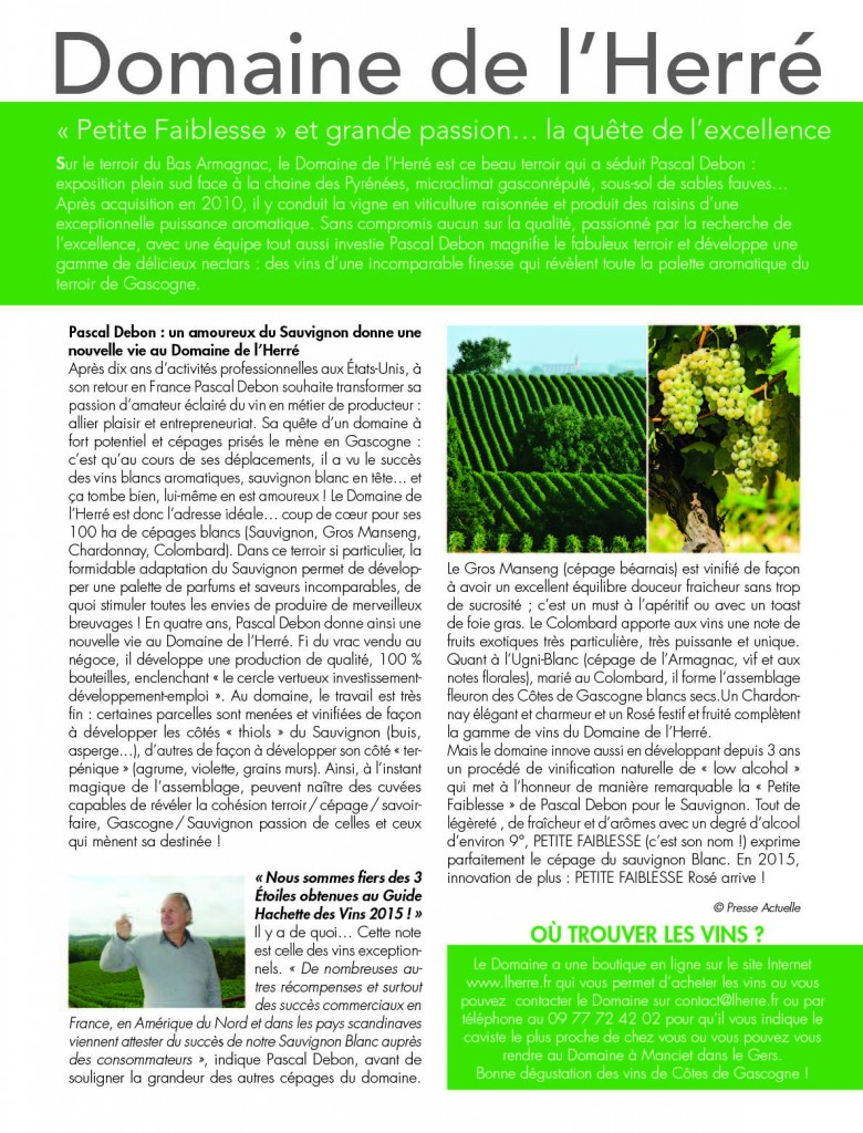 Page 2  from Article Maisons et Jardins Mai 2015