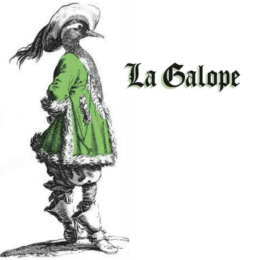 LOGO LA GALOPE ET CANARD MOUSQUETAIRE